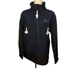NRA Blue/black soft shell full Zip Jacket BNWOT